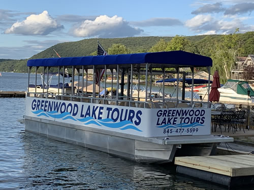 Boat Tour of Greenwood Lake, NY